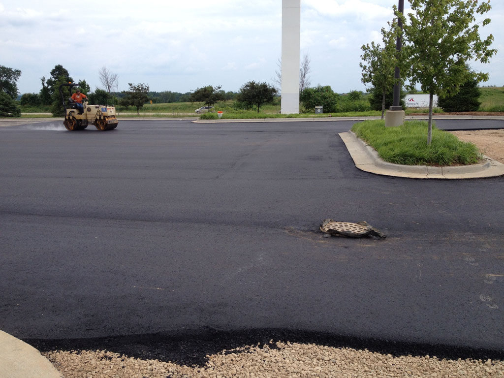 Hotel Chain – Hyatt Place – New Pavement Construction (1)