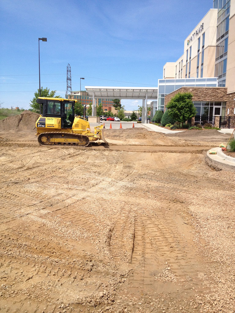 Hotel Chain – Hyatt Place – New Pavement Construction (7)