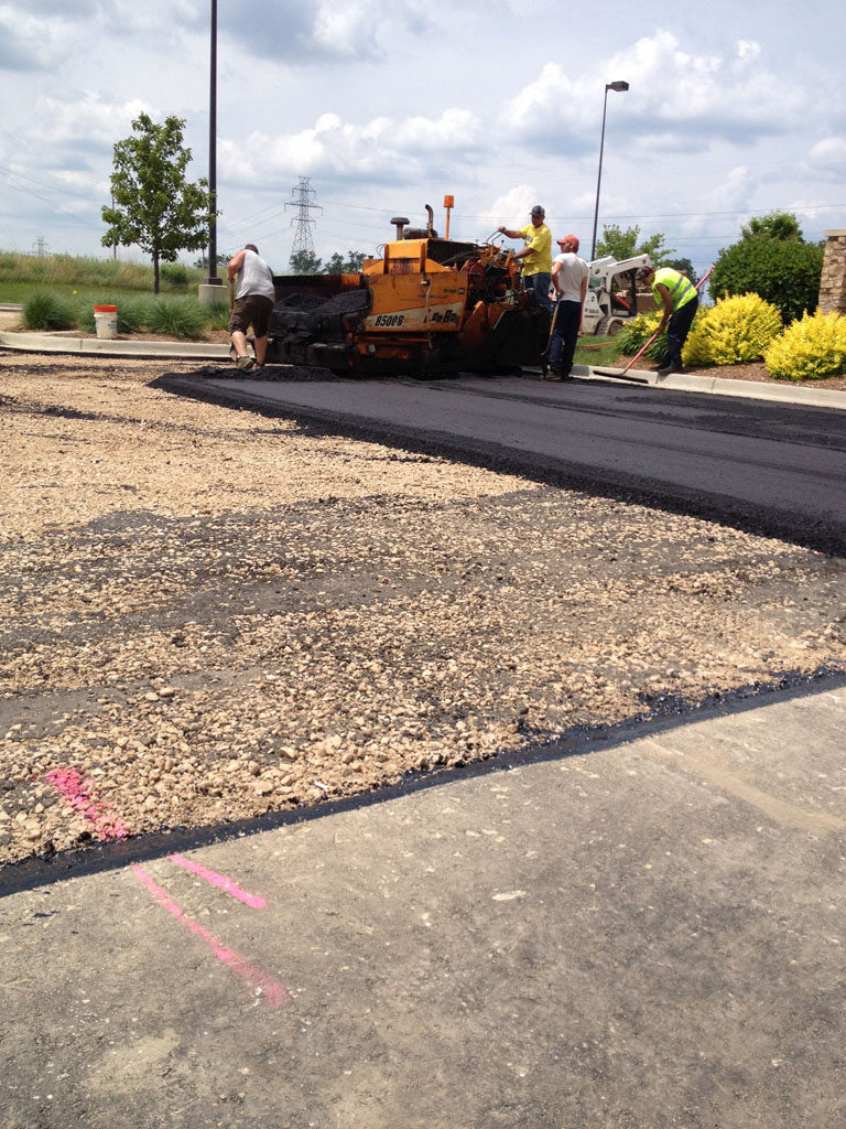Hotel Chain – Hyatt Place – New Pavement Construction
