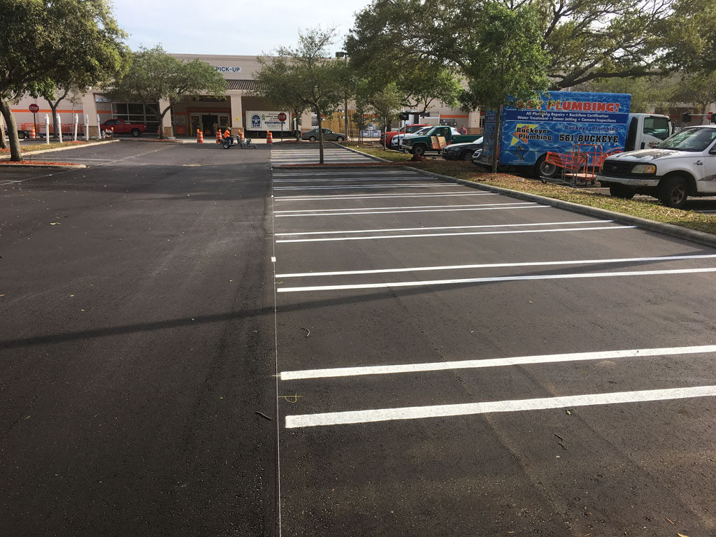Retail Chain – Home Depot – Striping (4)