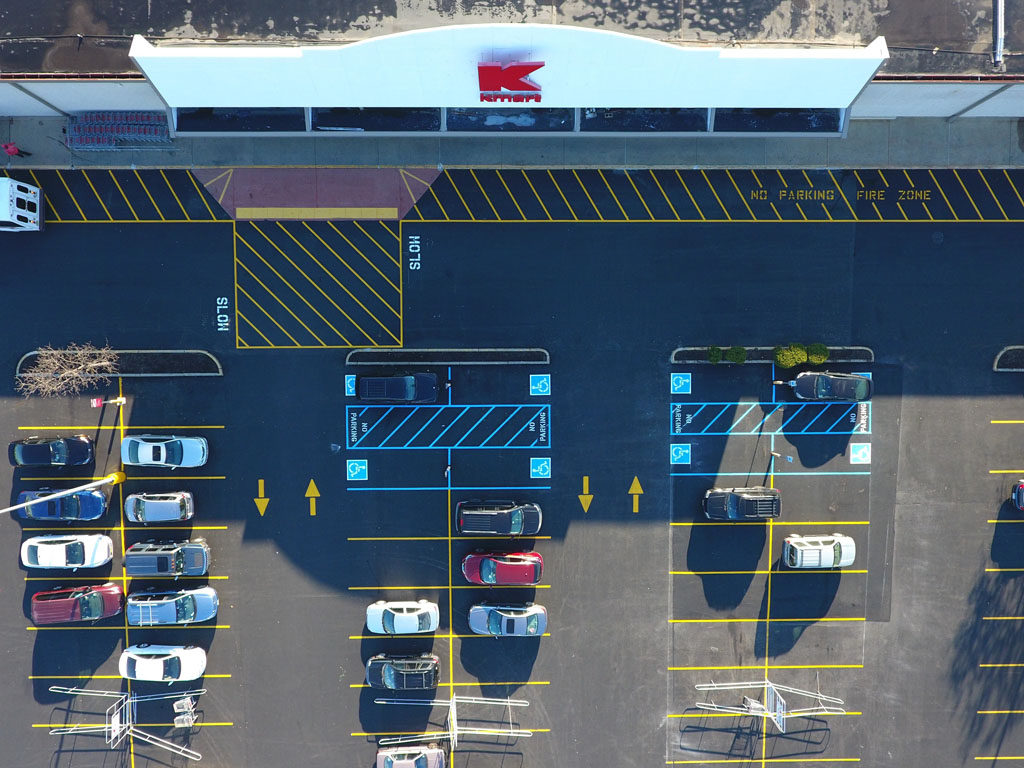 Retail Chain – Kmart – Sealcoating and Striping (7)