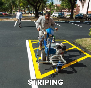 Parking Lot Striping South Florida