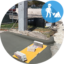 Sidewalk Installation Contract