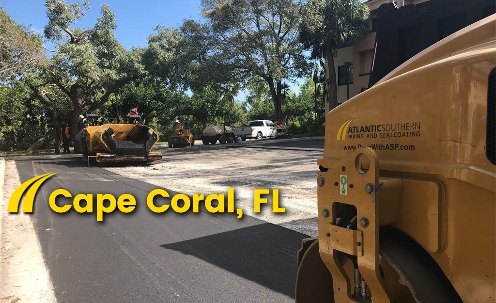 Cape Coral Asphalt Paving