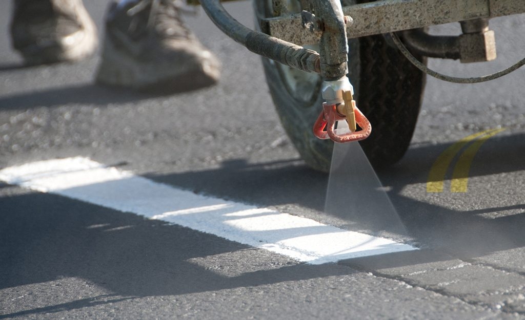 Asphalt Pavement Striping
