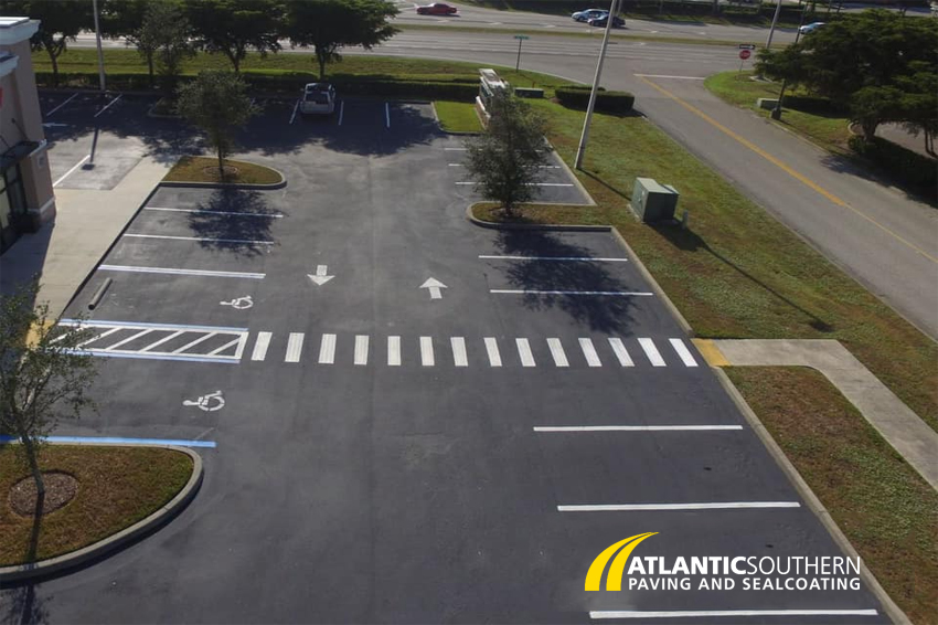 ADA Compliance Parking Lot Striping
